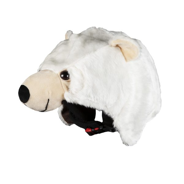 Hoxyheads Helmet Cover POLAR BEAR
